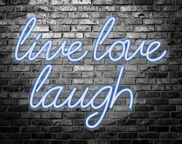 Neón Led Live Love Laugh